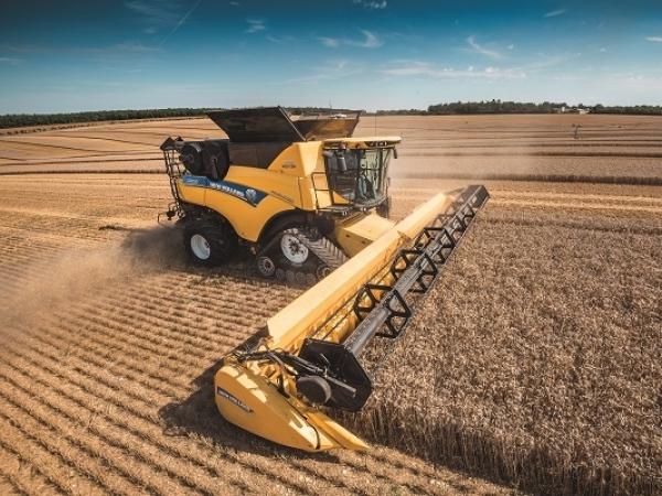 O sistema IntelliSense™ da linha CR Revelation, maximiza a produtividade da máquina diminuindo as perdas e danos dos grãos. Foto: Divulgação
