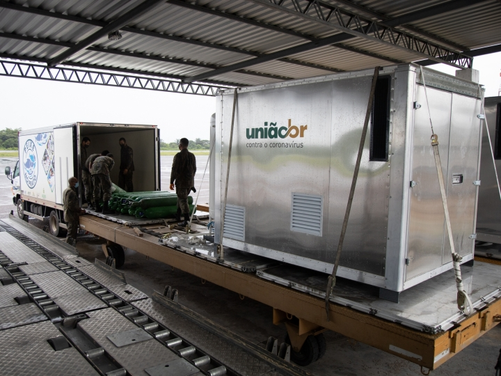Ypê participa de doação para a construção de seis usinas de oxigênio para o Amazonas