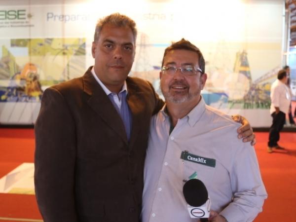 Plínio César, diretor do Grupo AgroBrasil, entrevista Paulo Montabone, diretor da Fenasucro & Agrocana