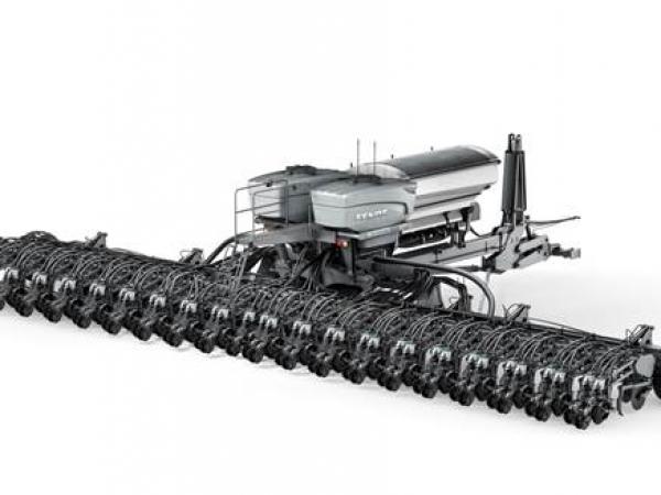 Fendt MOMENTUM: plantadeira é equipada com sistema vApply Granular, tecnologia Precision Planting® que garante a entrega precisa de adubo em cada linha de plantio (Crédito: Divulgação/Fendt)