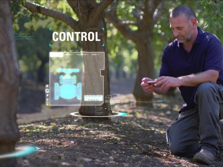 Netafim/Amanco lança primeiro sistema de irrigação com cérebro