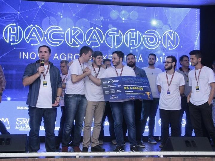 Aplicativo para locação de pasto ganha o Hackathon 2019