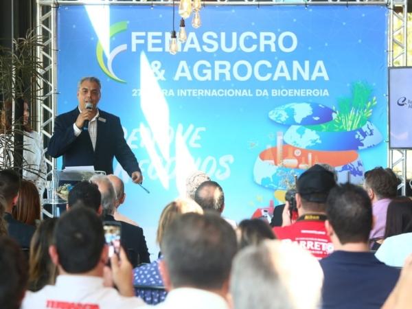A 27ª edição da FENASUCRO & AGROCANA foi lançada nesta quarta-feira, dia 29, em Ribeirão Preto. Foto: Rafael Cautella