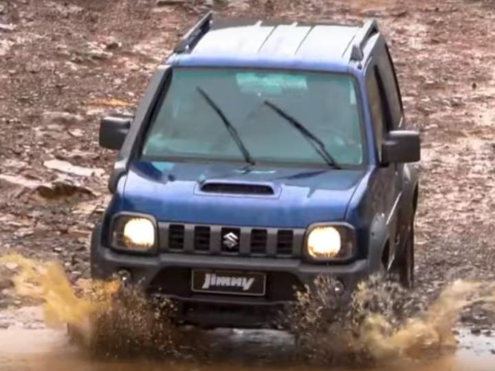 Suzuki Jimny 4x4 - novidades na linha 2020