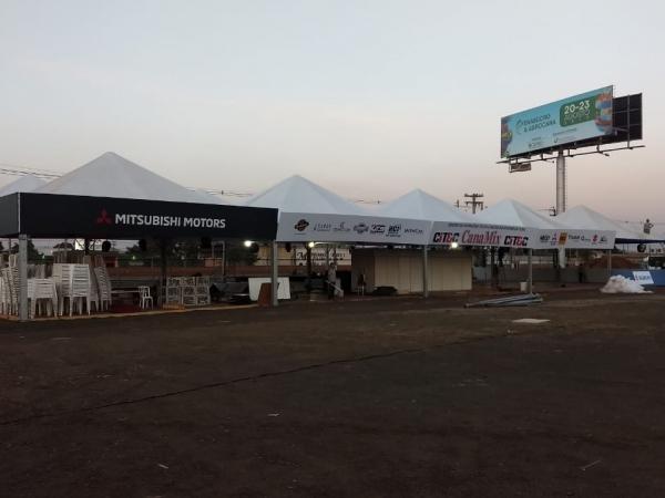 CITEC recebe os últimos ajustes para a Fenasucro & Agrocana, que começa amanhã. Foto: Arquivo TeC / CanaMix