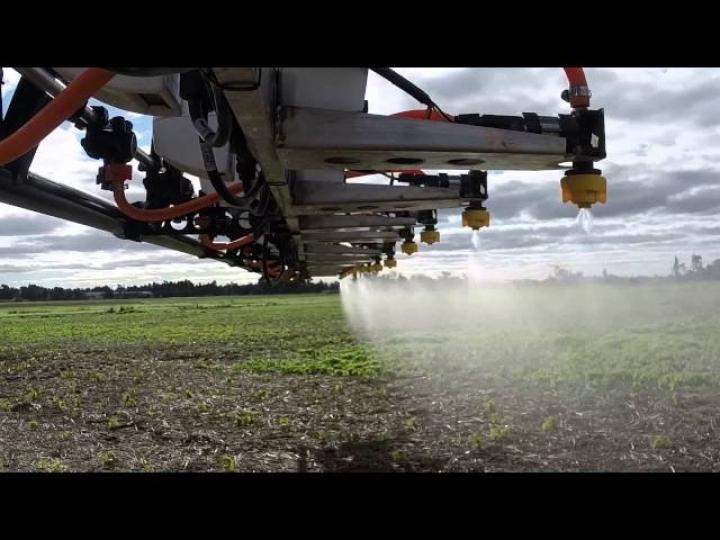 Trimble lança o sistema de pulverização de última geração WeedSeeker 2