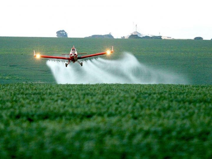 Sindag contra a proibição de aviação agrícola em Cianorte/PR