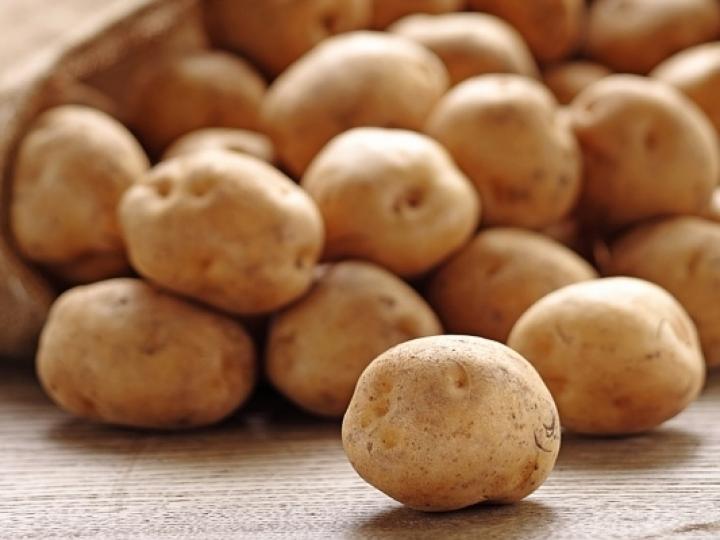 Redução nos preços da batata