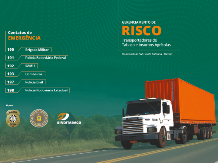 Roubo de cargas tem aumento de 60% em 2019 e entidades montam plano de ação