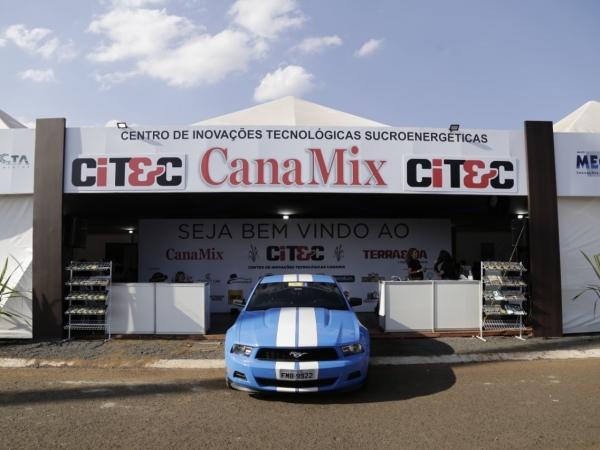 O CITEC foi montado logo na entrada da feira: primeira participação na Fenasucro & Agrocana reuniu 18 empresas