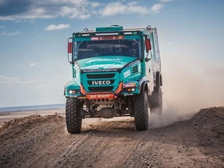 Dois caminhões Powerstar entre os 10 melhores da etapa 5 do Rally Dakar 2020