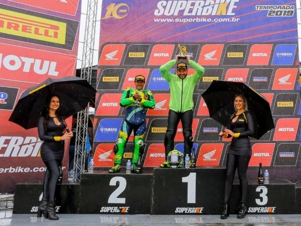 Guto Figueiredo ocupa a segunda colocação da categoria e não participou de apenas uma etapa, por motivos técnicos