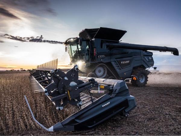 Fendt IDEAL 9: colheitadeira tem sistema de gerenciamento autônomo e motor de 656 cv, o mais potente do mercado (Crédito: Divulgação/Fendt)