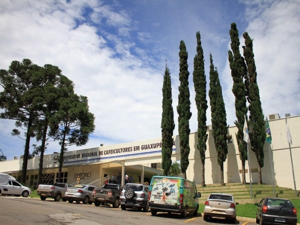 Cooxupé registra em sua história a maior distribuição aos cooperados. Matriz da cooperativa está instalada em Guaxupé (MG). Foto: Divulgação