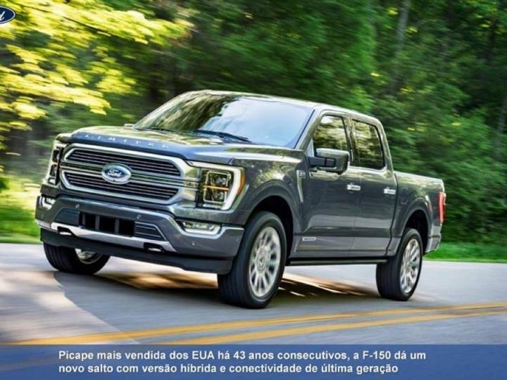 Ford apresenta a nova F-150, a picape mais potente, tecnológica e inovadora da categoria