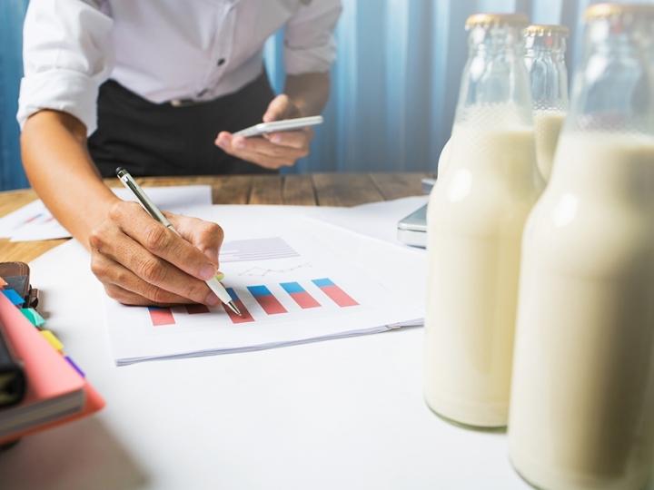 Comportamento do mercado de leite: oferta e demanda