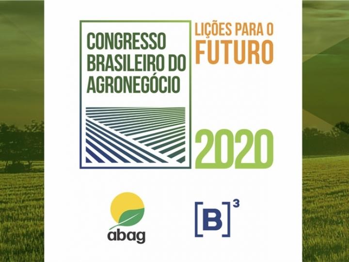 Congresso Brasileiro do Agronegócio apontará as perspectivas do setor e seu papel no pós-pandemia