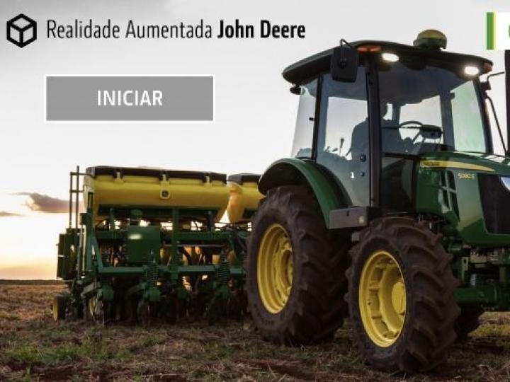 John Deere lança aplicativo de realidade aumentada