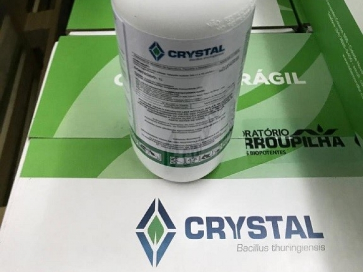 Embrapa e Lallemand lançam o bioinseticida Crystal