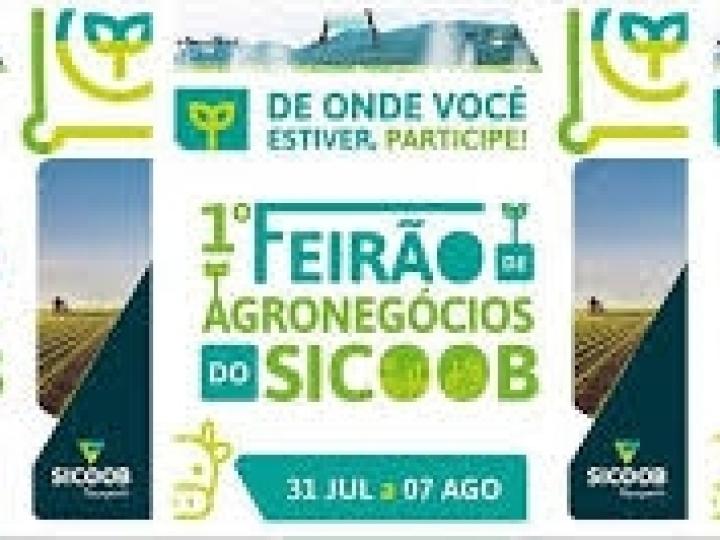Feirão de Agronegócios do Sicoob facilita acesso a serviços e produtos financeiros a produtores até 7 de agosto