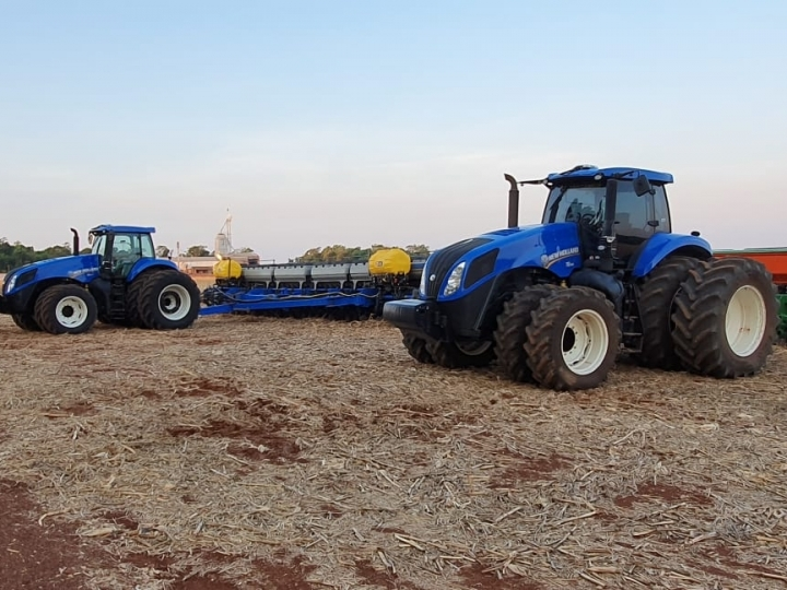 Mecanização do agro aquece consórcio de máquinas agrícolas