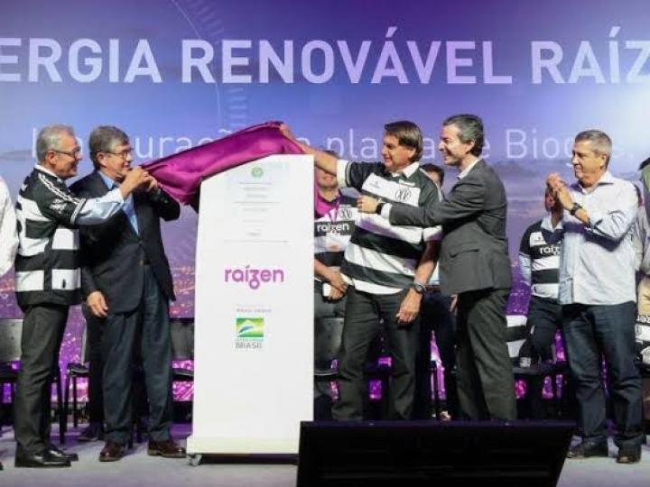 Raízen inaugura planta de biogás