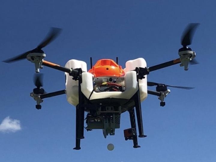 Bunge emprega Drones para controle biológico da lavoura de cana