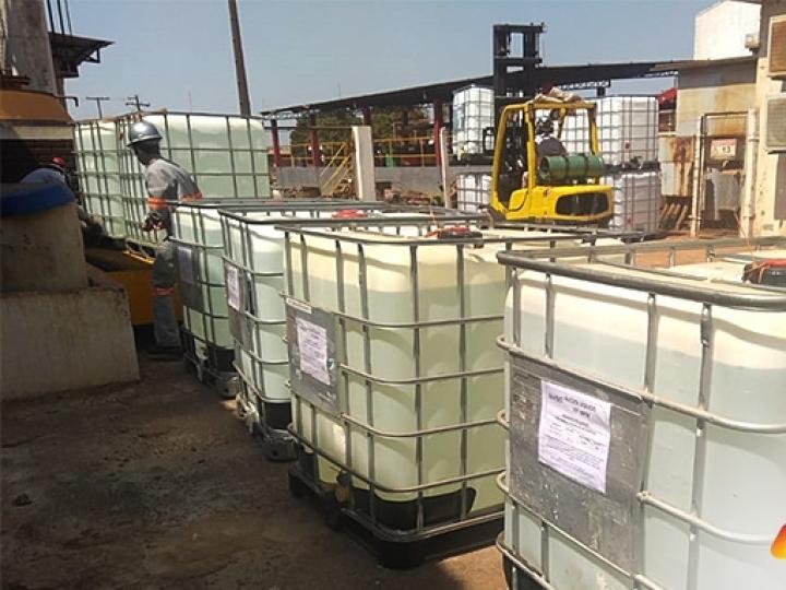 UISA realiza doações de cilindros de oxigênio, álcool 70 e açúcar para o enfrentamento à Covid-19