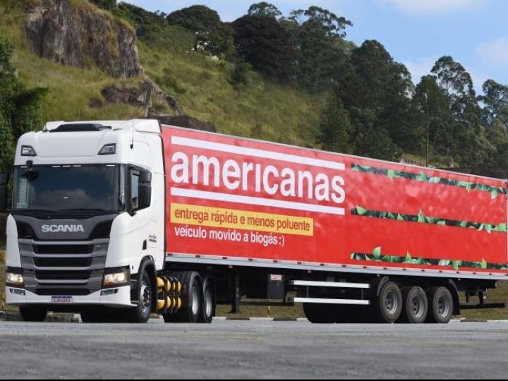 B2W Digital investe em frota de caminhões movidos a biometano e GNV