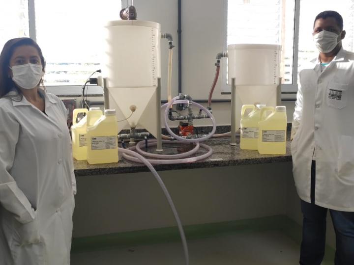 Pesquisa para produção de biodiesel a partir de óleo residual