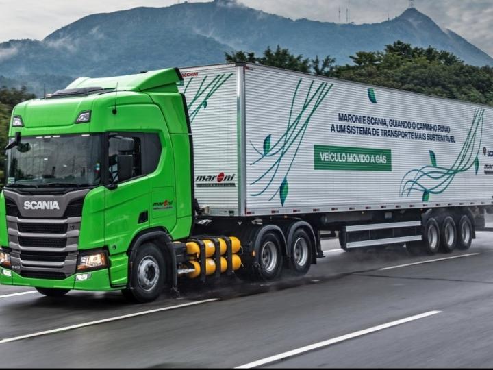 Scania vende para a TransMaroni a maior frota de caminhões a gás da história do Brasil