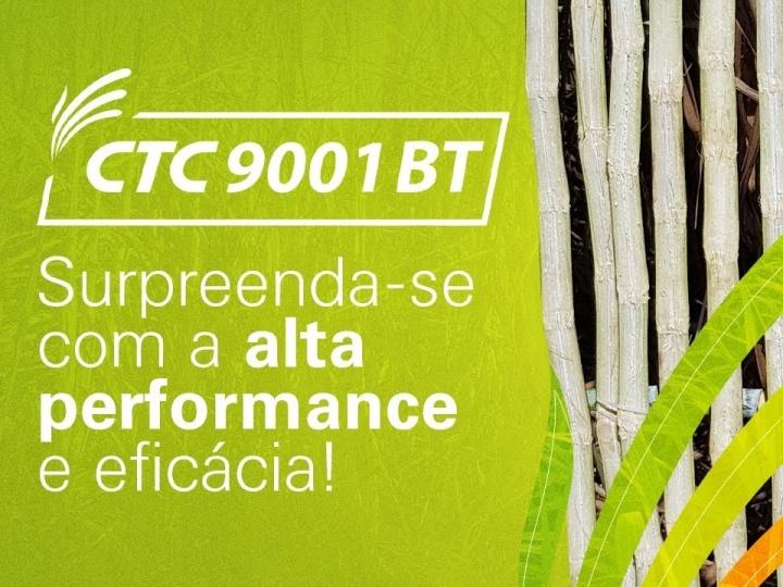 CTC9001BT: Rusticidade, alta produtividade e controle total da broca da cana