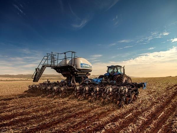 New Holland lança nova plantadeira de 27 linhas, ideal para o plantio de grãos . Foto: Divulgação