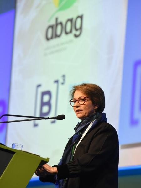 Tereza Cristina - Ministra da Agricultura, Pecuária e Abastecimento (MAPA)  Crédito: Gerardo Lazzari