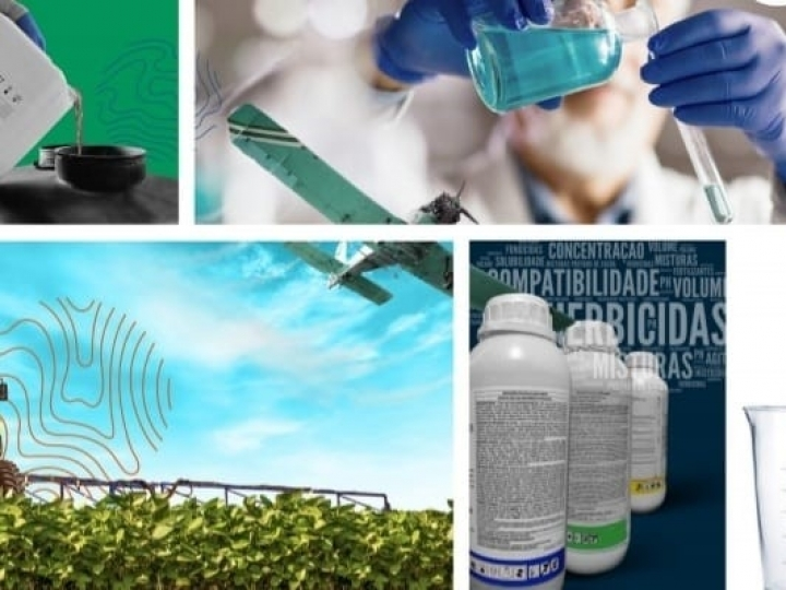 Embrapa lança manual para subsidiar mistura de produtos químicos no pulverizador