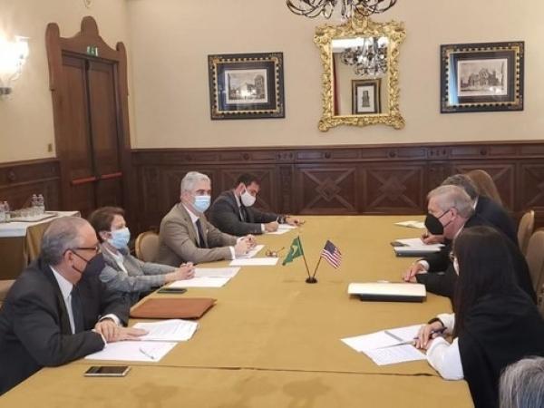 Delegações do Brasil e dos Estados Unidos se reuniram em Florença      Foto: Divulgação