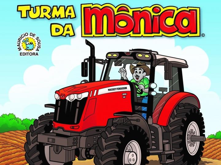 Massey Ferguson lança revista da Turma da Mônica sobre a evolução da agricultura no Brasil